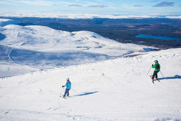 Skiing in the Cairngorms