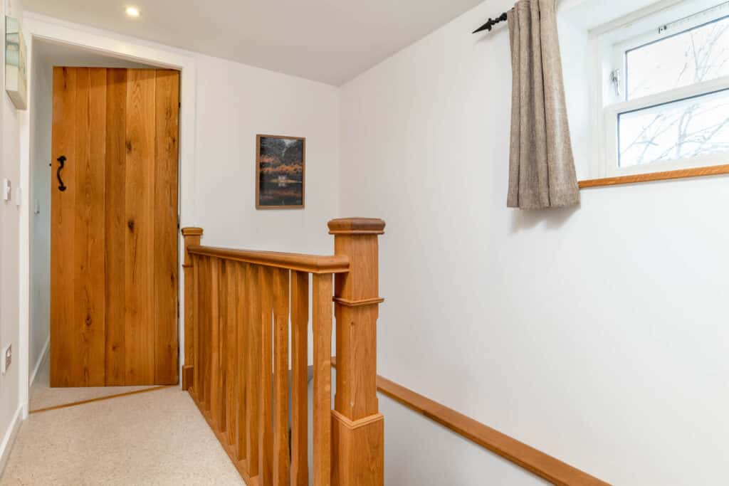 Upstairs in Riverside Cottage Ballater