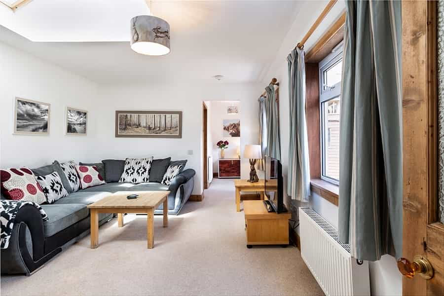 Cozy living room in Ballater