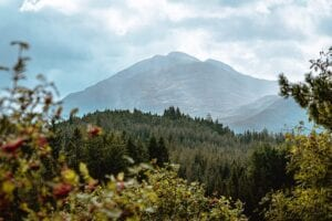 Lochnagar from Glen Muick
