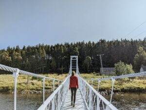 Seven Bridges and Knock Castle, Ballater