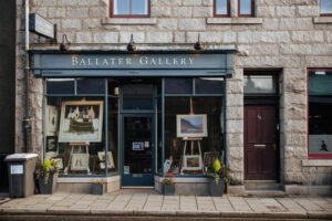 Gallery close to self-catering cottage in Ballater