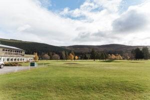Ballater Accommodation close to golf